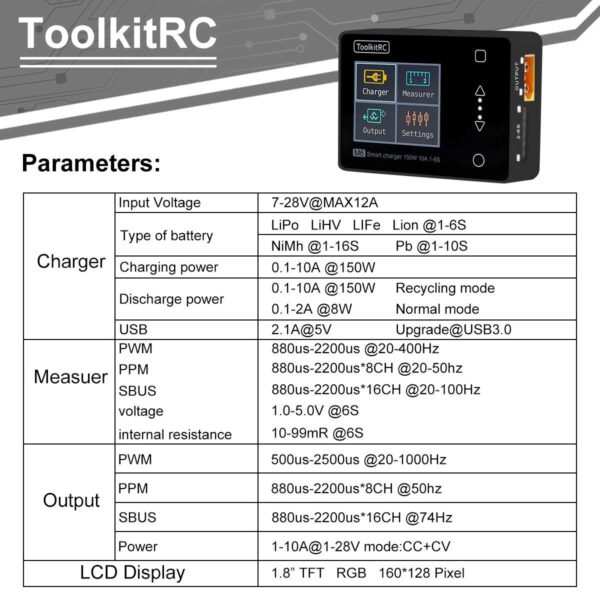 Toolkit RC Charger
