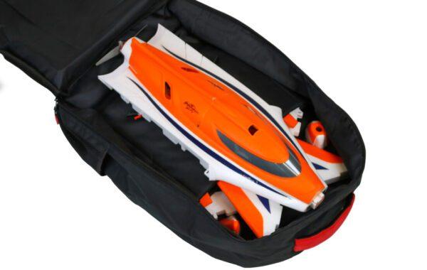 Flex Pirana in Backpack