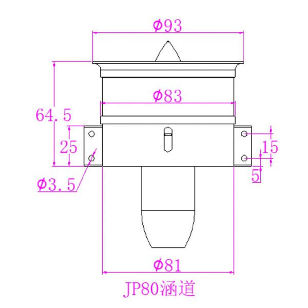 JP Hobby 80mm 6S EDF