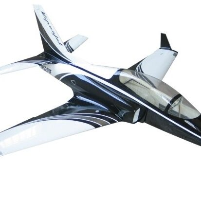 JTM 90mm Viper Black and Silver
