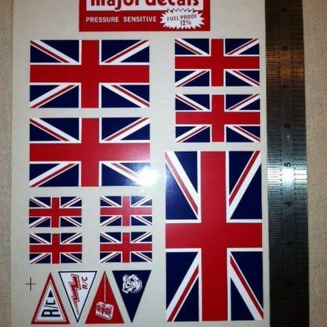 MAJF-2 UK FLAG