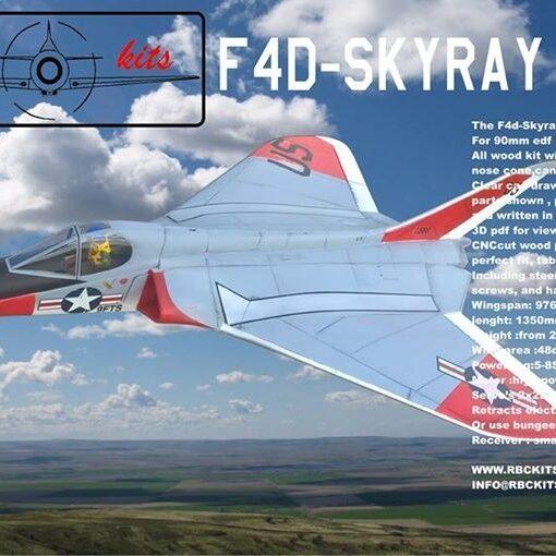 RBC F4D Skyray 90mm